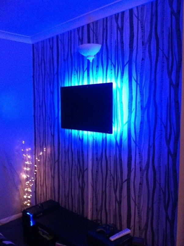 What are some creative ways to use led strips in your home quora led strips are easy to install theyre self adhesive simply peel and stick theyre low wattage with low running costs and they can last 10 years or aloadofball Choice Image