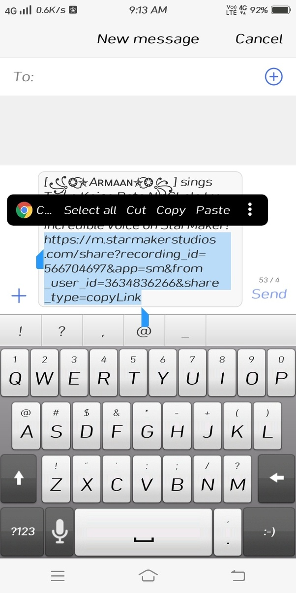 How can we download songs from StarMaker, and upload them on YouTube