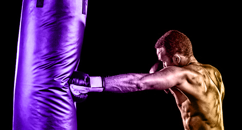 What is the difference between a boxer's punch and a regular