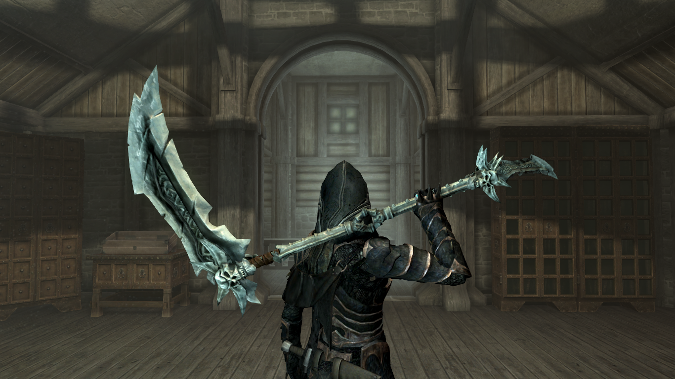 What Are Some Cool Two Handed Weapon Mod For Skyrim Quora