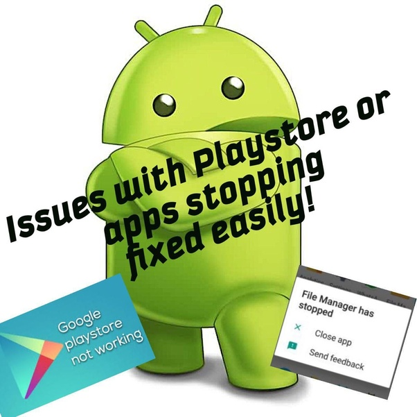 How to fix google search and play store services not working
