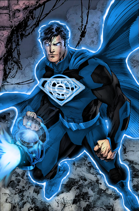 If Superman The Symbol Of Hope Had A Blue Lantern Ring How Badass