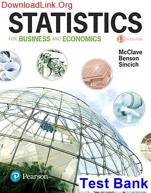 Statistics Mcclave 12th Edition Pdf