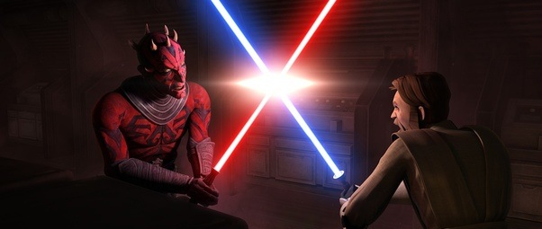 what are the top 10 star wars lightsaber battles in movies and tv