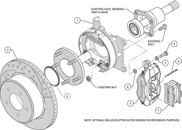How Does A Rear Disc Parking Brake Function Quora