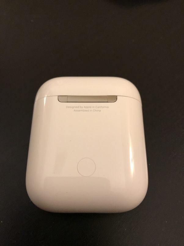 What Is The Button On The Back Of The Apple Airpods Case For Quora