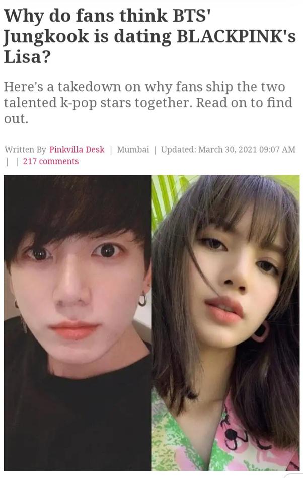 Dating scandal jungkook bts BTS' Jungkook