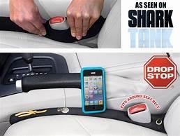 Drop Stop The Original Patented Car Seat Gap Filler As Seen On Shark Tank Set Of 2 Automotive