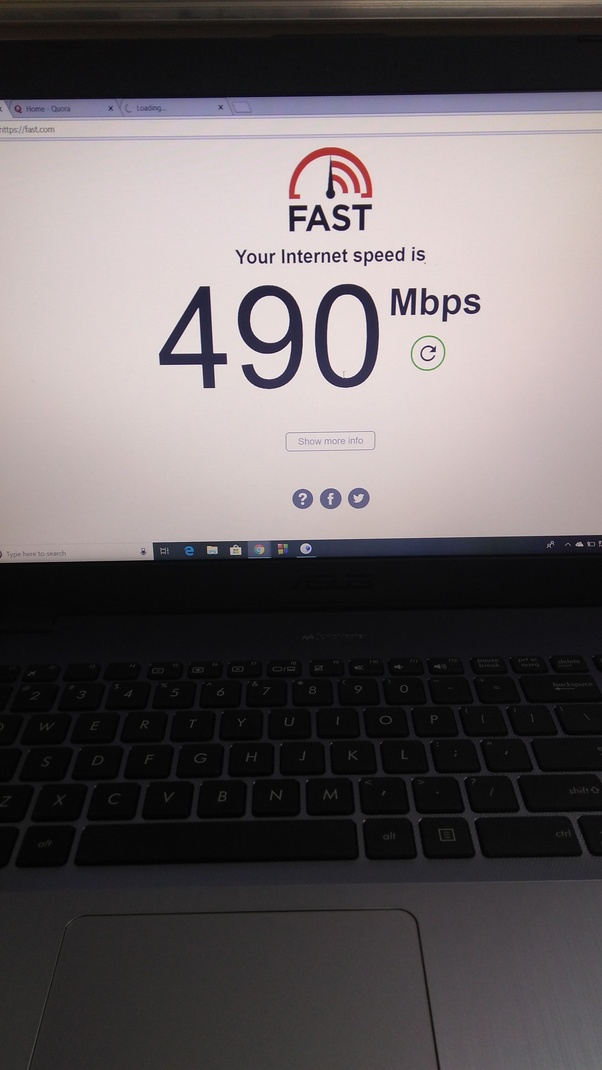 Does BITS Pilani have a high speed internet connection like