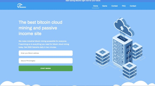 Is Freemining Co A Scam Or Legit It Claims To Provide Free Cloud Cryptocurrency Mining Quora