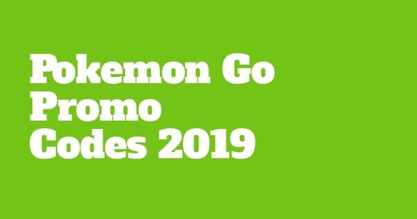 What are Pokemon Go promo codes? - Quora