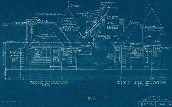 How do blueprints work quora heres a print that is a true blueprint malvernweather Images
