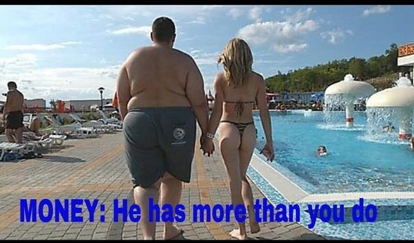 Beautiful fat man