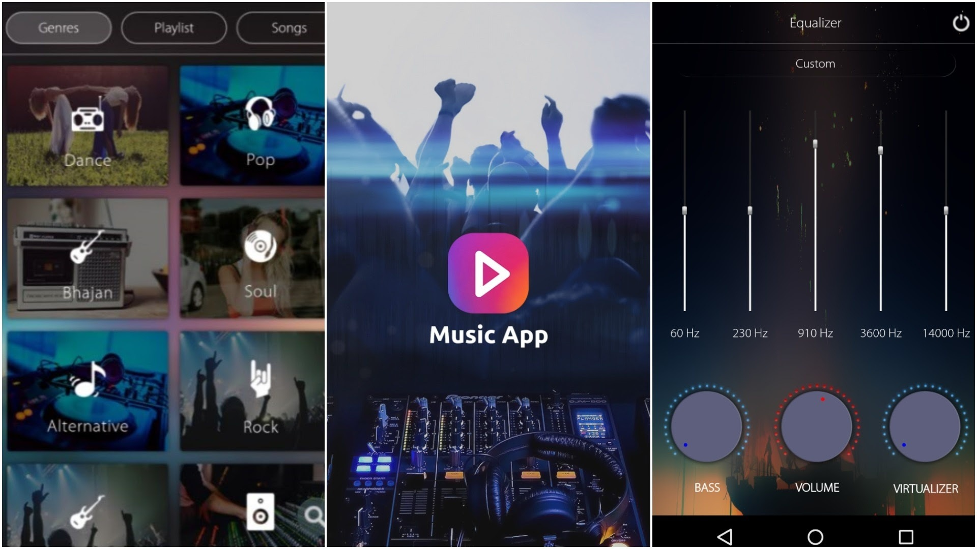 Which android music app gives mp3s the best playback sound quality