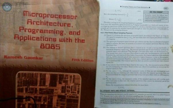 Microprocessor Book By Bhurchandi