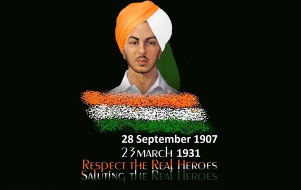 Today Is Shaheed Bhagat Singh S Birthday How Would You Like To Give Tribute In Your Own Words Quora
