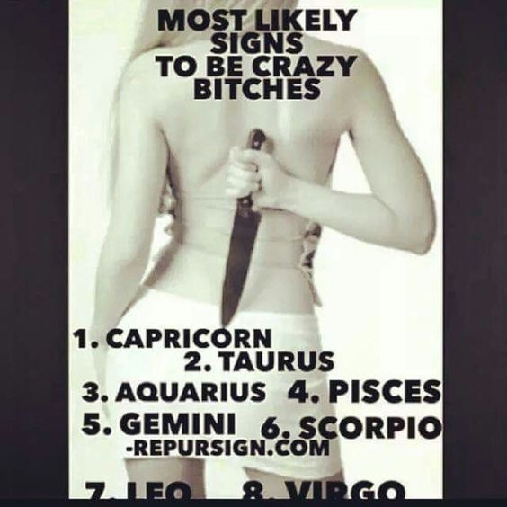 Which is the most dangerous zodiac sign and why? - Quora