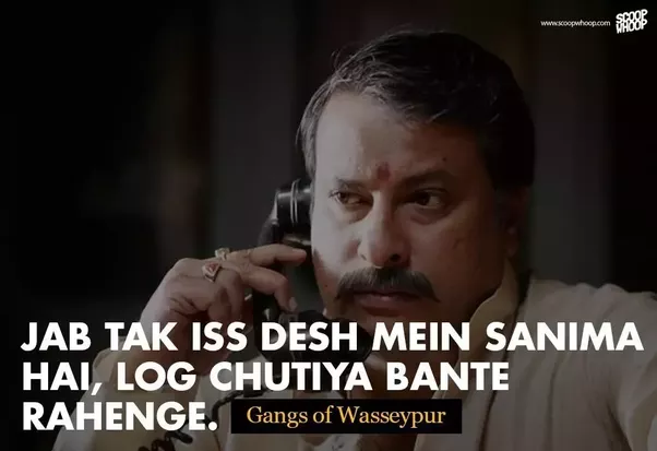 Which is the best bollywood dialogue at all times quora for Kabil bano kamyabi