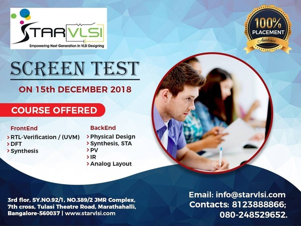 Vlsi Physical Design Institutes In Hyderabad: Which are the best institutes in Bangalore for VLSI course? - Quorarh:quora.com,Design
