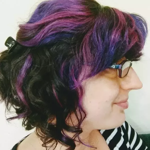 How much trouble is dyeing your hair purple? Can lazy people (like ...