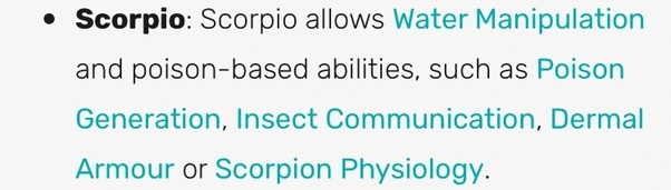 What are the superpowers of Scorpio people? - Quora
