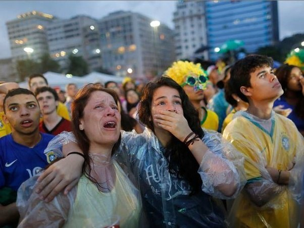 Football Is More Than Life For Brazilians Though There Were People Protesting World Cup And All Football Has Deep Meaning In Brazil