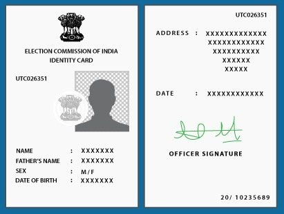I have lost my voter id how can i apply for an indian voter id in the event the card is lost misplaced or is unusable due to being torn or mutilated you can apply for a duplicate card apply for duplicate voter id spiritdancerdesigns Image collections