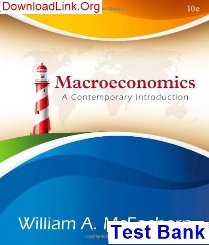 By william a. Mceachern macroeconomics: a contemporary.