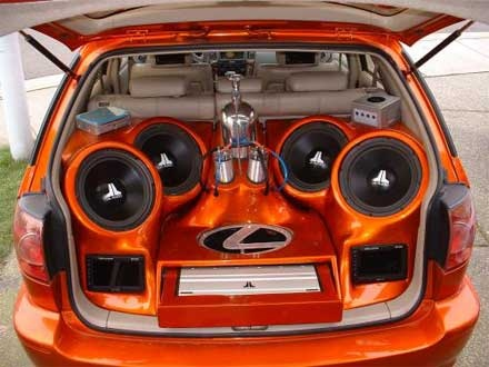 How loud are you legally allowed to play music in a car? - Quora