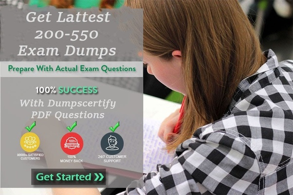 New 200-550 pdf questions with free updates.