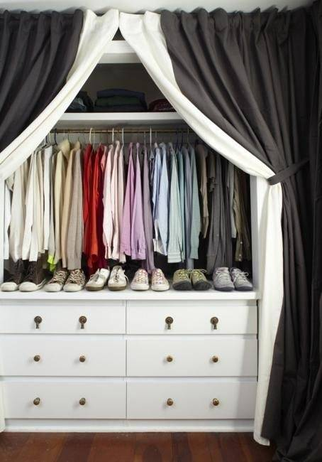 Nice If You Move The Chest Into The Closet, You Can Always Get Rid Of The  Bookcase Completely And Replace It With Wall Shelves. Personally, I Love  Floating ...