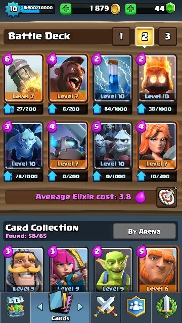 What is the best deck in clash royale for arena 7 9 quora for Clash royale deck arc x