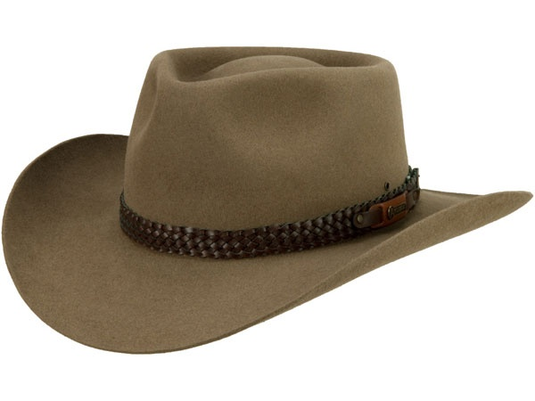 a68861a892240 Stetson s hats rapidly gained in popularity and are synonymous with the  American West. They re eminently practical today for anyone working  outdoors in ...