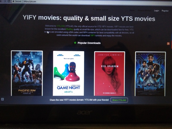 Can I download movies through YTS in India? - Quora
