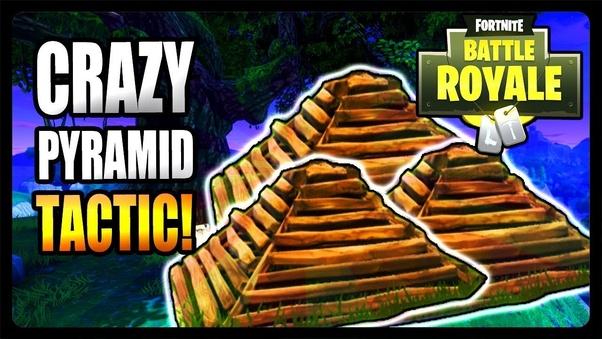 Fortnite pyramids