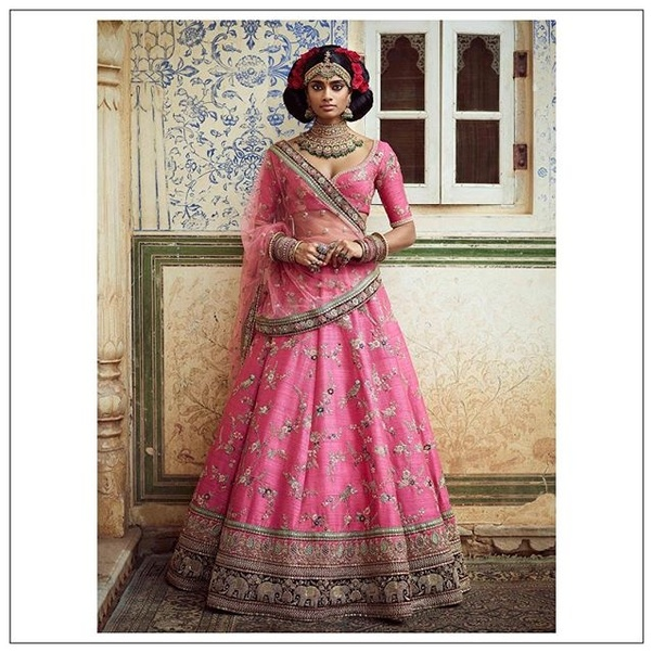 03f75428d6 How much does a sabyasachi bridal lehenga cost? - Quora
