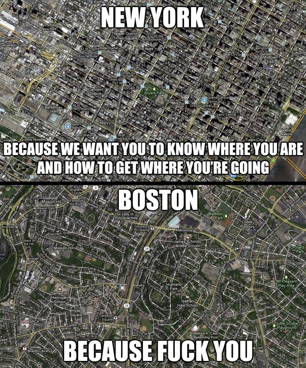 How Far Is New York From Boston >> How Do New York City And Boston Compare Quora