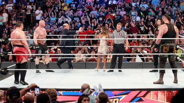 Who can beat Brock Lesnar in WWE? - Quora