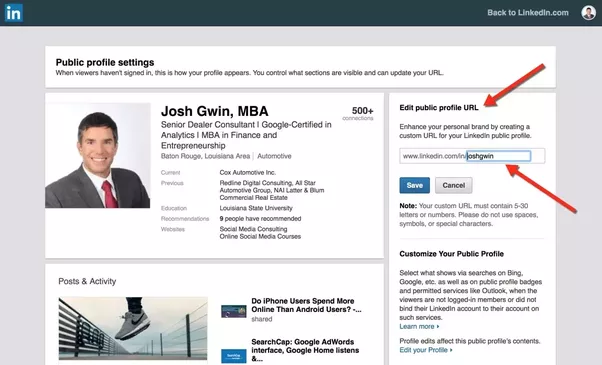 How to create a custom linkedin url quora you can get my free 19 step linkedin profile checklist for here colourmoves