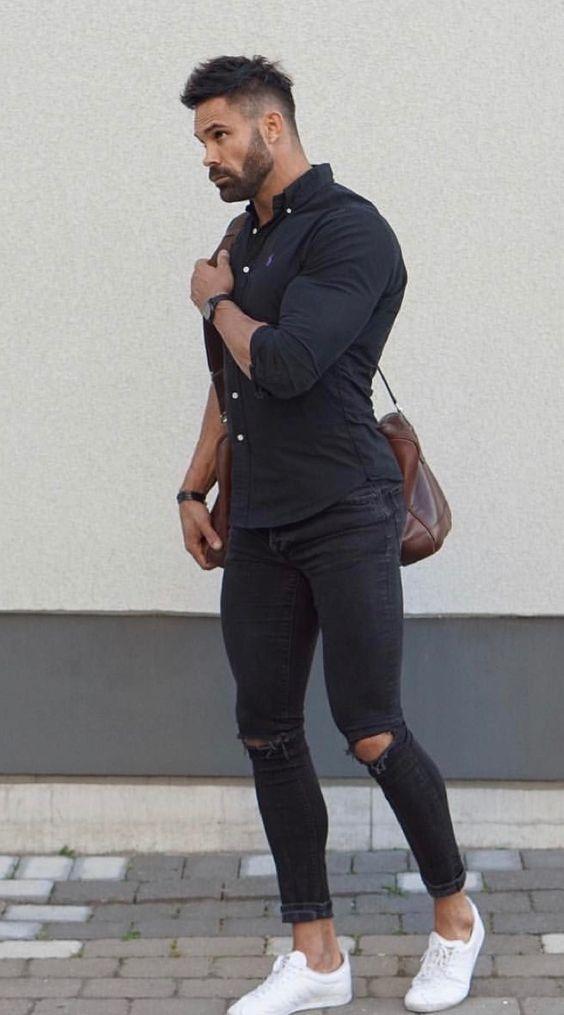 do black pants go with a black shirt  quora