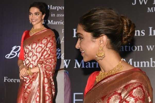 What Jewellery Can I Wear With My Red Saree For An Engagement