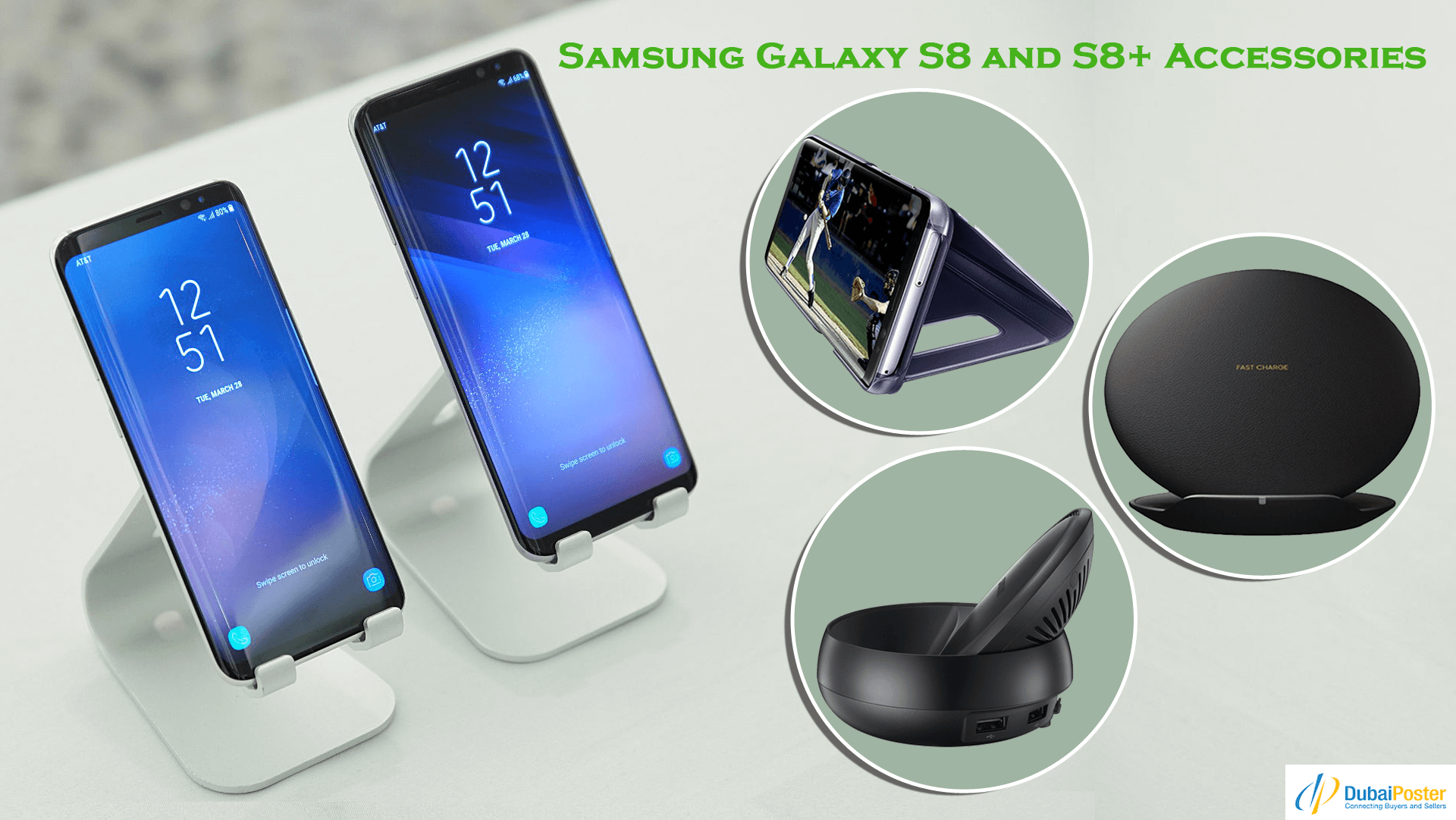 Where can I buy Samsung Galaxy S8/S8 Plus accessories in Dubai? - Quora