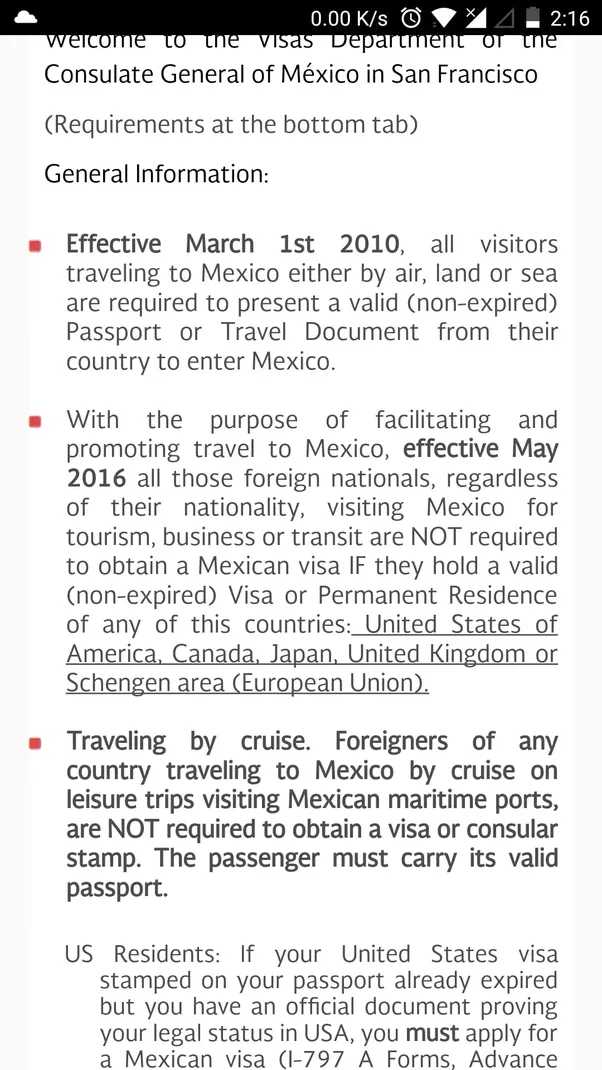 Can i travel to mexico on a schengen visa quora freerunsca Images