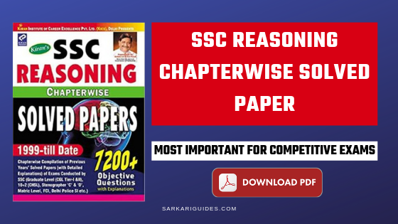 Where can I download Kiran SSC reasoning chapterwise book of