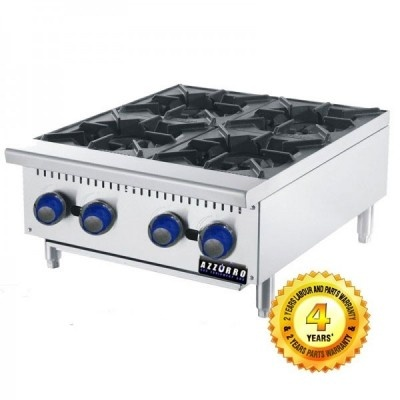 BL OB4 Azzurro 4 Burners Open Cooktop