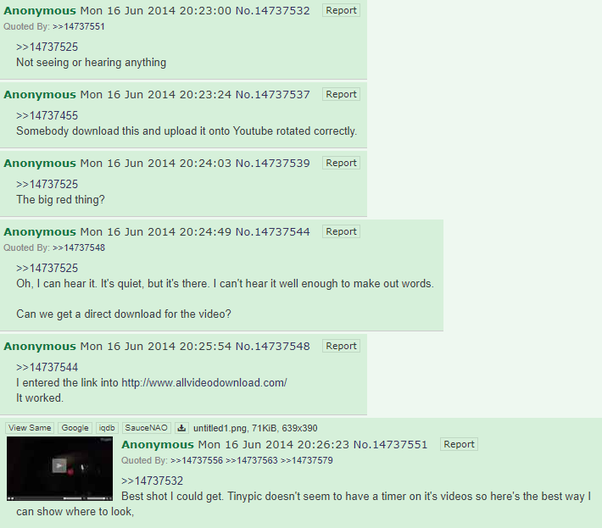 What's the scariest forum you've found on Reddit or 4Chan