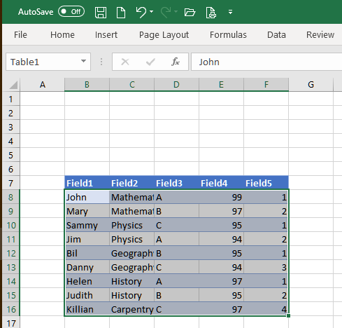 How to select all the rows where a column cell has a specific value