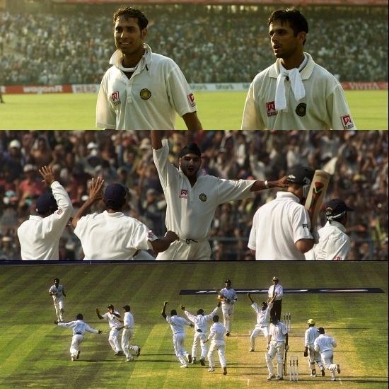 II Test Eden Garden Kolkata Border Gavaskar Trophy 2000 01