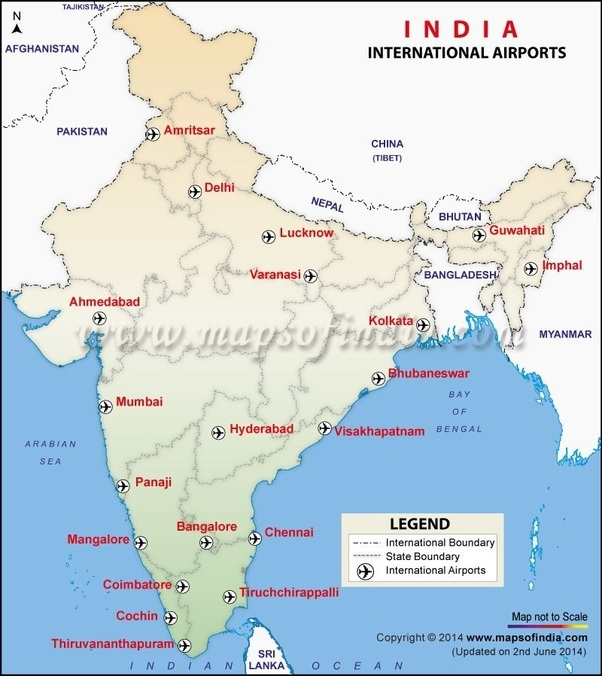 How many international airports are there in india quora international airports in india gumiabroncs Images