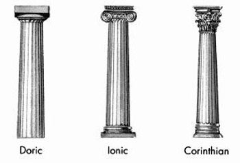 Three Columns  >> What Are The Three Types Of Greek Columns Quora